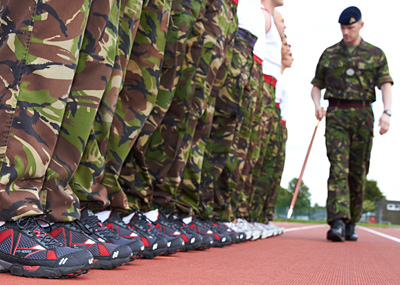 BRITISH ARMY RUNNING SHOES